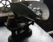 Antique candy scale