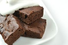 Brownies z karobu