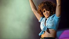 Rihanna will be performing at BBC Radio 1's Hackney Weekend 2012. We can't wait to see her stage costumes!