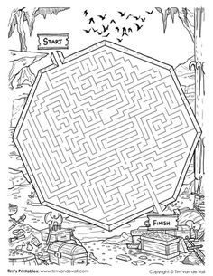 24 Best Mazes Images In 2019 Maze Puzzles Mazes For Kids