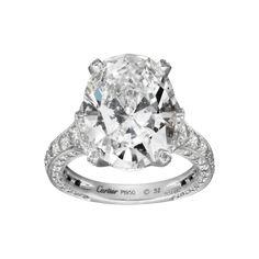 CARTIER, RING Platinum, diamonds REF: H4140600