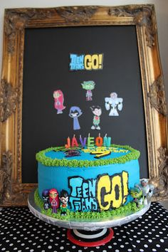 Sometimes I Make Cakes: teen titans go! Girl 2nd Birthday, Birthday Wishes, Birthday Parties, Birthday Ideas, Birthday Cake, Pull Apart Cupcake Cake, Cupcake Cakes, Paul Cakes, Cake Away