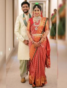 Lovely couple portraits on the wedding day will always be special ❤️ . by Bridal Inspiration Wedding Dresses Men Indian, Wedding Outfits For Groom, Groom Wedding Dress, Wedding Saree Blouse, Indian Wedding Couple, Indian Bridal Outfits, Indian Bridal Wear, Groom Dress, Indian Weddings