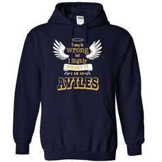 AVILES - #unique hoodie #victoria secret hoodie. CHEAP PRICE => https://www.sunfrog.com/No-Category/AVILES-5324-NavyBlue-30110133-Hoodie.html?68278