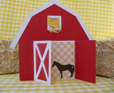 Items similar to Farm Birthday Party Invitations - Set of 10 THE ORIGINAL Red Barn Party Invites// Handmade Customizable Card Farm Animals//Red or Pink on Etsy Farm Animal Party, Farm Animal Birthday, Farm Birthday, 3rd Birthday Parties, Birthday Bash, Farm Themed Party, Barnyard Party, Farm Party Invitations, Barn Parties
