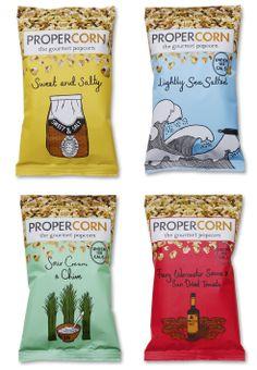 Popcorn - food packaging