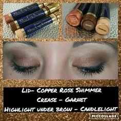 Our eye shadows are waterproof Www.senegence.com/lusciouslipcolors