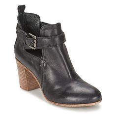 Chaussures Femme Bottines Casual Attitude SEROLA Noir