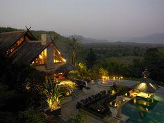 Anantara Golden Triangle Elephant Camp & Resort, Thailand.   http://matadornetwork.com/trips/48-epic-dream-hotels-visit-die/