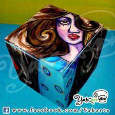 "Caja Mágica ""Lola"" www.facebook.com/Yakarte"