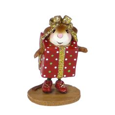 Present…Perry | Mouse miniatures by Wee Forest Folk®