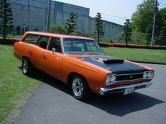 1968 Plymouth Road Runner station wagon