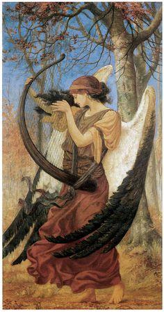 ༺/༻ Titania's Awakening, by Charles Sims, 1896