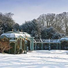 Waddesdon Manor - The most beautiful gardens to visit in the UK this winter - from open spaces crisp with frost to delicate winter flowers creating a splash of colour - HOUSE by House & Garden
