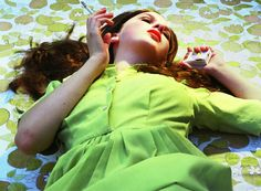 Los Angeles-based photographer and filmmaker Alex Prager stages cinematic scenes that harken back to 1960s Hollywood.