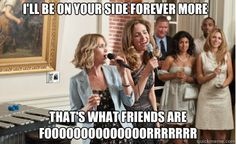 Bridesmaids Movie Dresses, Bridal Shower Ideas and More Inspirations for your wedding - Knot For Life Bridesmaids Movie Quotes, Bridesmaids 2011, Bridesmaid Speeches, Funny Wedding Speeches, Funny Movies, Great Movies, Three Best Friends, Best Song Ever, Tv Show Quotes