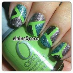 Instagram photo by elaineqxoxo #nail #nails #nailart by brittney