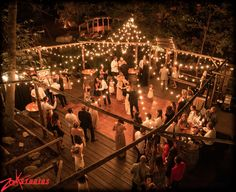 Great capture of our beautiful dance floor at Hidden Creek, Southern California's forest wedding ceremony/reception venue. #PineRoseWeddings Artfully captured by Zook Photography