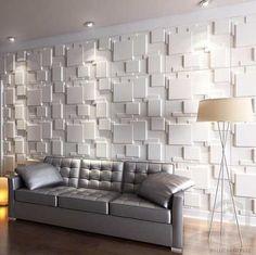 painel 3d para revestimento de parede em alto relevo