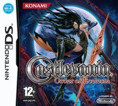 Castlevania: Order of Ecclesia (Nintendo DS) Ds Games, Some Games, Games Box, Castlevania, Videogames, Gamers, Game Guide, Nintendo Ds, Nintendo Games