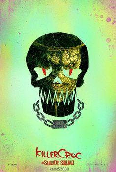 Suicide Squad Killer Croc GIF Poster