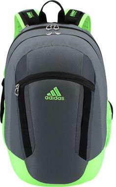 Men s adidas Excel II Backpack - Deepest Space Solar Green Black Backpacks b65a9d1dc540f