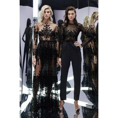 Zuhair Murad Spring 2017 Ready-to-Wear featuring and polyvore,