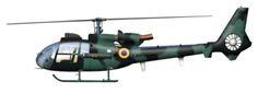 Aérospatiale SA-342 Gazelle, Fuerza Aérea Ecuatoriana.