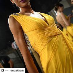 #Repost @ranizakhem (@get_repost)  Draped in decadence!! #backstage @ranizakhem #ranizakhem #hautecouture #couture #fallwinter1718 #details #ranizakhemworld via COLLEZIONI MAGAZINE OFFICIAL INSTAGRAM - Celebrity  Fashion  Haute Couture  Advertising  Culture  Beauty  Editorial Photography  Magazine Covers  Supermodels  Runway Models