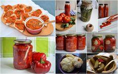 retete de muraturi zacusca bulion conserve legume savori urbane Gem, Stuffed Peppers, Canning, Vegetables, Food, Salads, Stuffed Pepper, Essen, Jewels