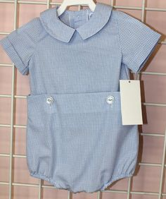 291355  Baby Boy Clothes Embroidery Blank Infant Boy by ZuliKids, $26.00