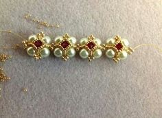 Victorian bracelet - Beading4perfectionists - Youtube