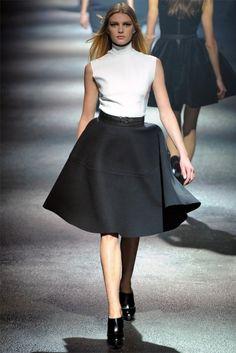 Moda anni 50: stile, abbigliamento, accessori, make up e acconciature - Moda anni 50, gonna a ruota Lanvin