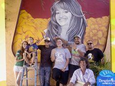 1000 images about our center on pinterest cultural for Mural la misma luna