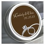 Personalized Mint Tin – Wedding Rings