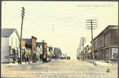 Imlay City Great Downtown St View Stores and Businesses Lapeer County Wolverine News Belgium Printed Card Unsent Lapeer Michigan, Imlay City, Wolverine, Belgium, New York Skyline, Street View, Family Trees, Explore