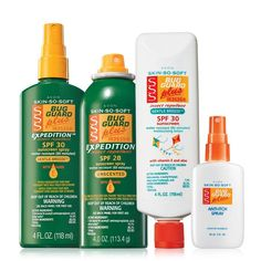 Skin So Soft Bug Guard Plus Collection #1.  Right now is a great time to purchase your SSS-Bug Guard products while they have a savings of up to 50%!!  Each purchase from me directly or on my website earns you a chance to win a prize giveaway.  Click on the picture to go my website.