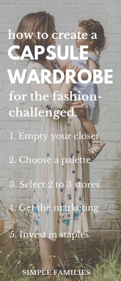 35cdebeb80b1 How to Start a Capsule Wardrobe  5 tips for the fashion-challenged