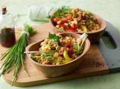 Couscous-Salat, lecker würzig, ein tolles Rezept aus der Kategorie Beilage. Bewertungen: 1.179. Durchschnitt: Ø 4,6.