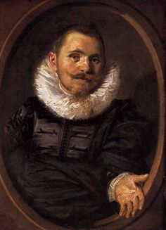 Portrait of a Man, 1627, Frans Hals