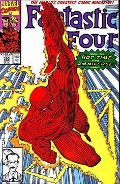 Fantastic Four #353, June 1991, cover by Walt Simonson