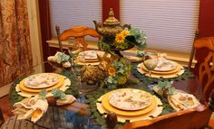 Southern Seazons: Tablescape ideas