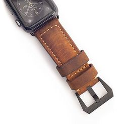 Strap for Apple Watch by Nomad. Rugged Italian leather that ages like fine wine. Apple Watch Leather Strap, Apple Watch Iphone, Man Of The House, Cool Gear, Apple Watch Bands, Italian Leather, Hardware, Watches, Watch Straps