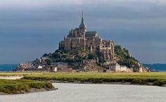 Mont Saint-Michel HD Wallpaper