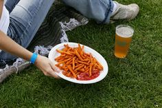Sweet potato fries and a brew at The Telluride Blues & Brews Festival. Photo by Gerry Dawes©2013 / gerrydawes@aol.com. Canon 5D Mark III / C... Telluride Blues And Brews, Sweet Potato, Brewing, Canon, Carrots, Fries, America, Vegetables, Food