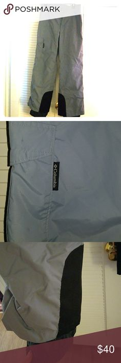 Columbia waterproof light blue ski pants NWOT Perfect for snowboarding, skiing, or any outdoor cold weather activity. Never worn. Light blue size large. Columbia Pants