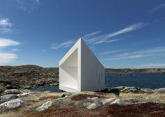 Cuatro estudios para artistas en Fogo Island, Canadá