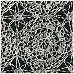 Ravelry: Georgianna Bedspread #658 pattern by The Spool Cotton Company