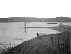 Harbour, Larne, Co. Belfast, Northern Ireland, Old Photos, History, Beach, Places, Water, Photographs, Outdoor