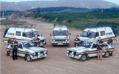 Teamwork makes the Dream work Ford Sport, Sport Cars, Race Cars, Automobile, Old Lorries, Car Carrier, Camping Car, Ford Transit, Rally Car